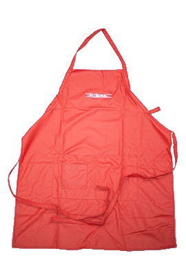 Chris Christensen Waterproof Sampoo Apron Red