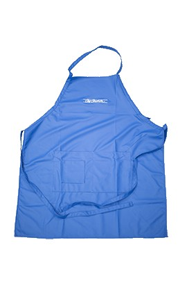 Chris Christensen Waterproof Sampoo Apron Blue