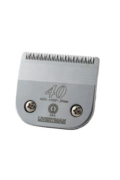 Liveryman Spare Clipper Blade 0.1 mm No 40