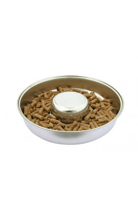 Show Tech Puppy Feeding Dish Stainless Steel Feeding Bowl 29 cm