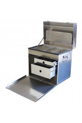 Chris Christensen D-Flite Deluxe Tack Box 400 Traveling Case For Groomers, Handlers & Breeders