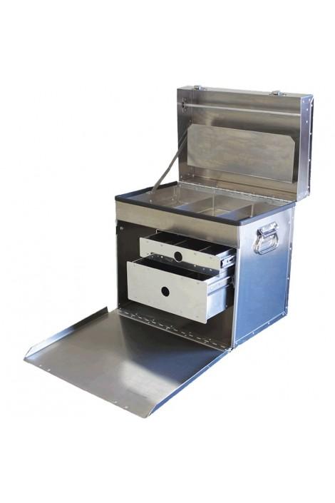 Chris Christensen D-Flite Deluxe Tack Box 400 Traveling Case For Groomers & Breeders