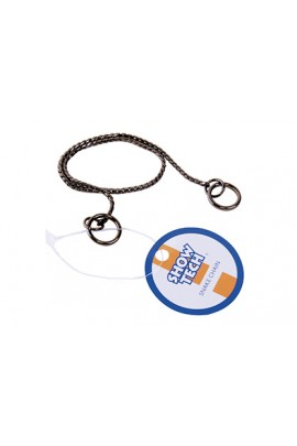 Show Tech Snake Chain Black Show Chain For Dogs