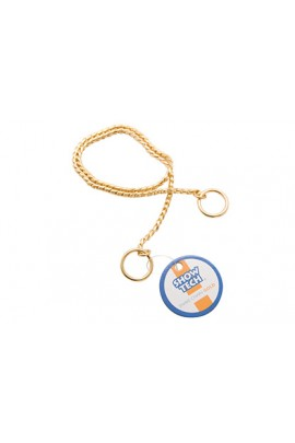 Show Tech Snake Chain Gold Show Chain For Dogs
