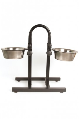 Show Tech Puppy Feeding Dish Stainless Steel Feeding Bowl