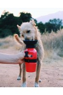 Highwave AutoDogMug® Portable Dog Water Bottle & Bowl - Chocolate