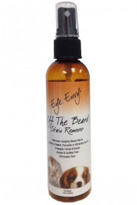 Eye Envy®Off the Beard Stain Remover for Dogs and Cats