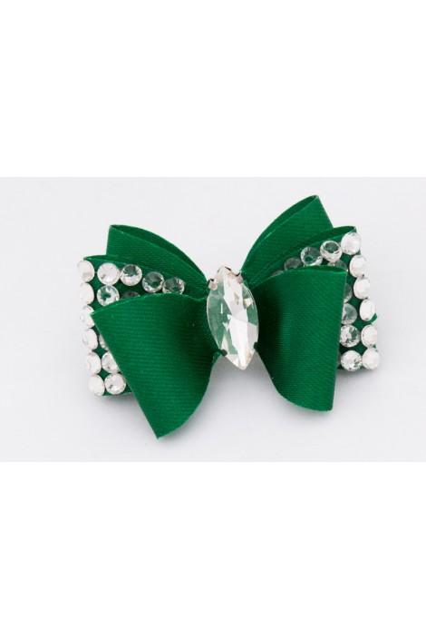 Show Dog Precious Bows - Green Dioni
