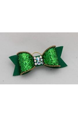 Show Dog Precious Bows® - Green Amalthea