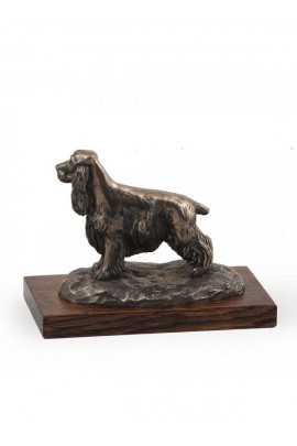 Art-Dog English Cocker Spaniel on Wood base