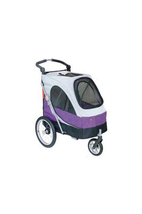 Petstro Medium Buggy, Purple/Grey