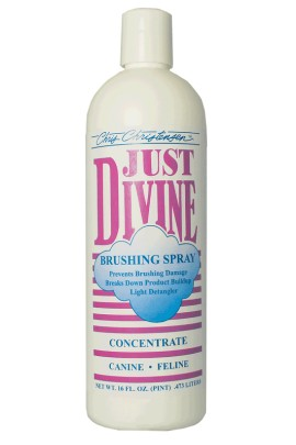 Chris Christensen Just Divine Brushing Spray Concentrate 473 ml