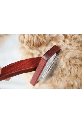 MaxiPin Beech Wood Small Slicker Brush