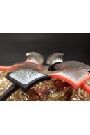 Chris Christensen Big G Dense Long Pin Slicker Brush Large Coral