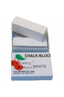 Cherry Knoll White Easy to Apply Twin Chalk Blocks