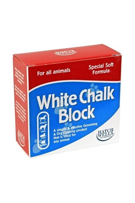 Hatchwells White Chalk Powder Block