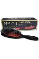 Mason Pearson Junior Bristle & Nylon BN2 Dark Ruby Brush