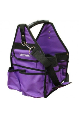 Chris Christensen Purple Large Grooming Tote Bag
