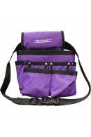 Chris Christensen Purple Small Caddy Grooming Tote Bag