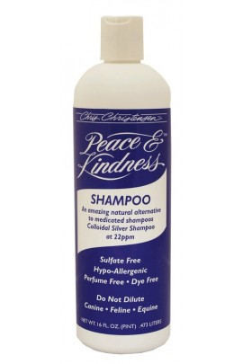 Chris Christensen Peace & Kindness Colloidal Silver Antibacterial Shampoo 473ml