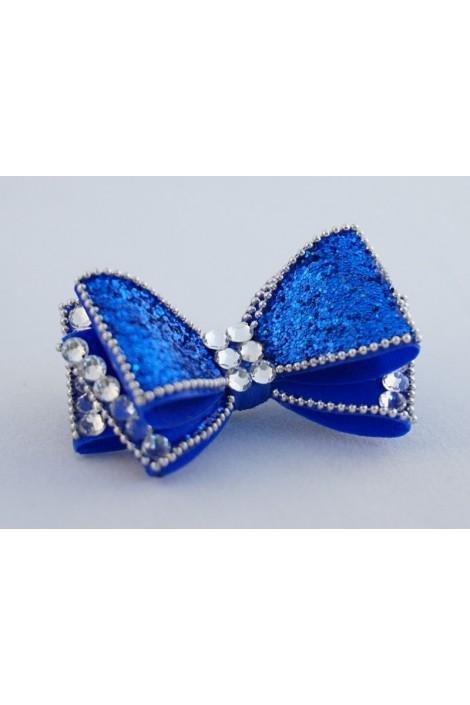 Show Dog Precious Bows - Blue Iris
