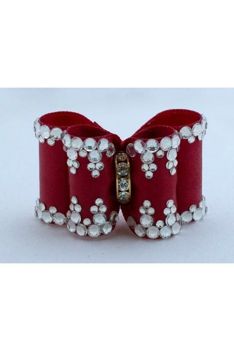 Show Dog Precious Bows® - Red Medea