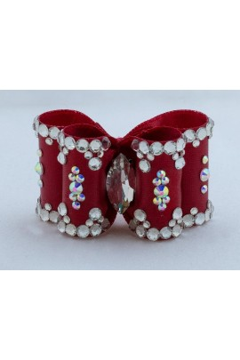 Show Dog Precious Bows® - Red Erigone