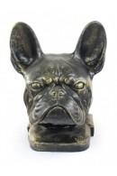 Art-Dog French Bulldog Head Figurine made of resin