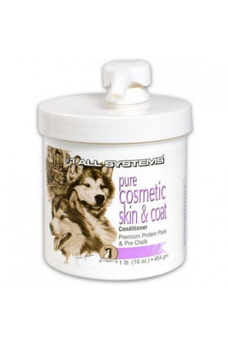 All Systems Pure Cosmetic Skin & Coat Conditioner (Premium Protein Pack & Pre-Chalk Conditioner)