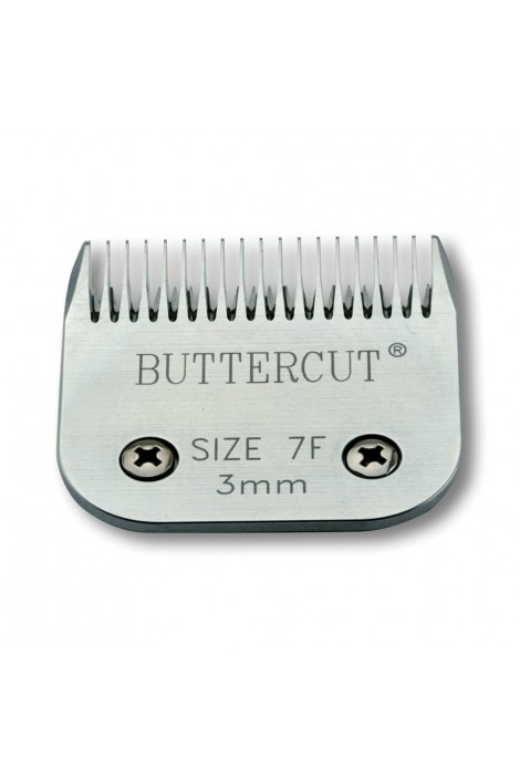 "Geib Buttercut 7F"" Universal SnapOn Stainless Steel Clipper Blade"