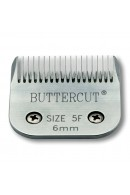 "Geib Buttercut 5F"" Universal SnapOn Stainless Steel Clipper Blade"