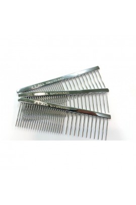 All Systems Pocket / Face Metal Comb 50/50