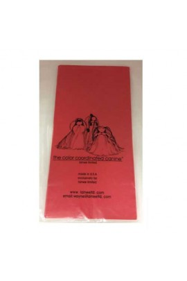 Lainee Limited Wrapping Plastic Sheets 270 pcs - Red