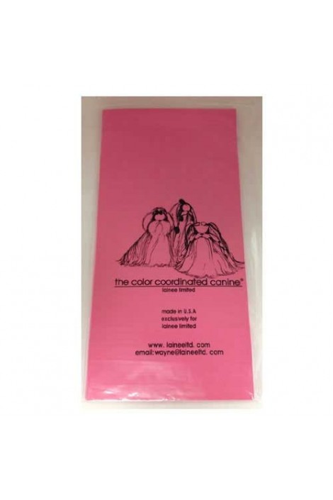 Lainee Limited Wrapping Plastic Sheets 270 pcs - Pink