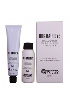 OPAWZ DOG HAIR DYE SUPER BLACK PERMANENT COLOR