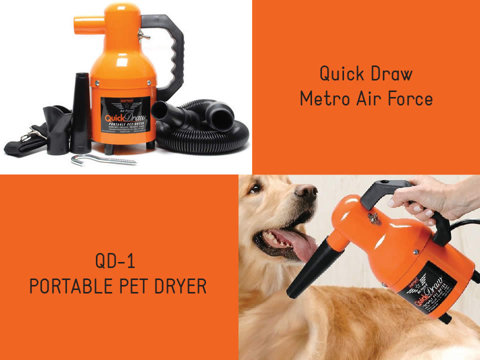 metro qd-1 portable pet dryer